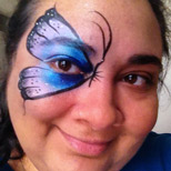 Butterfly - Big Grins Face Painting and Body Art - face painting for kids parties
