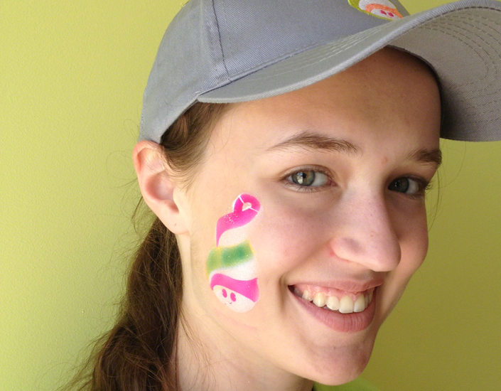 Big Grins Airbrush Face Painting Menchies Grand Opening